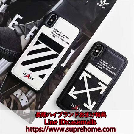OFF WHITE JORDAN iPhoneXs Maxケース