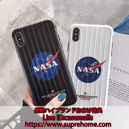 NASA iPhone 11 pro maxケース スーツケース式