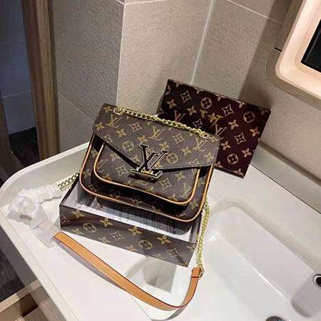 Louis Vuitton ポシェット ロックミーチェーン ミニ 可愛い