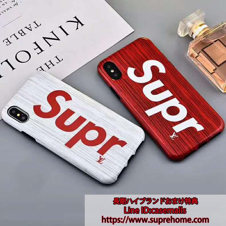 ルイヴィトン シュプリーム コラボ iPhoneXケース