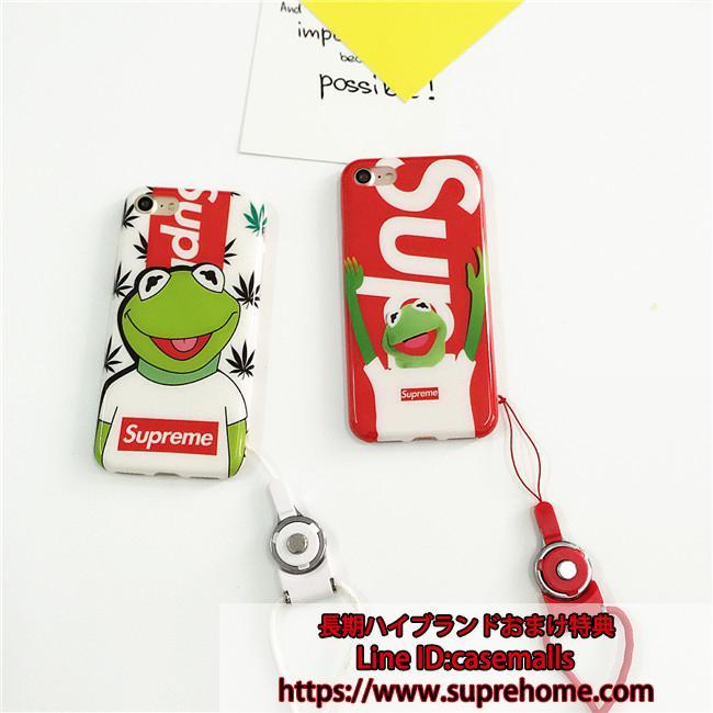 可愛い SUPREME iPhoneXケース