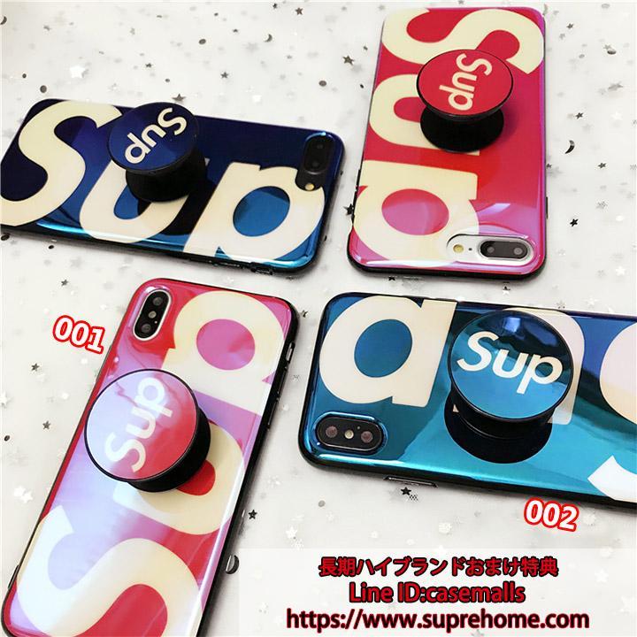 可愛い supreme iphonex ケース