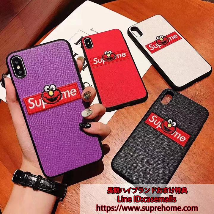 supreme セサミストリート iPhoneXs maxケース