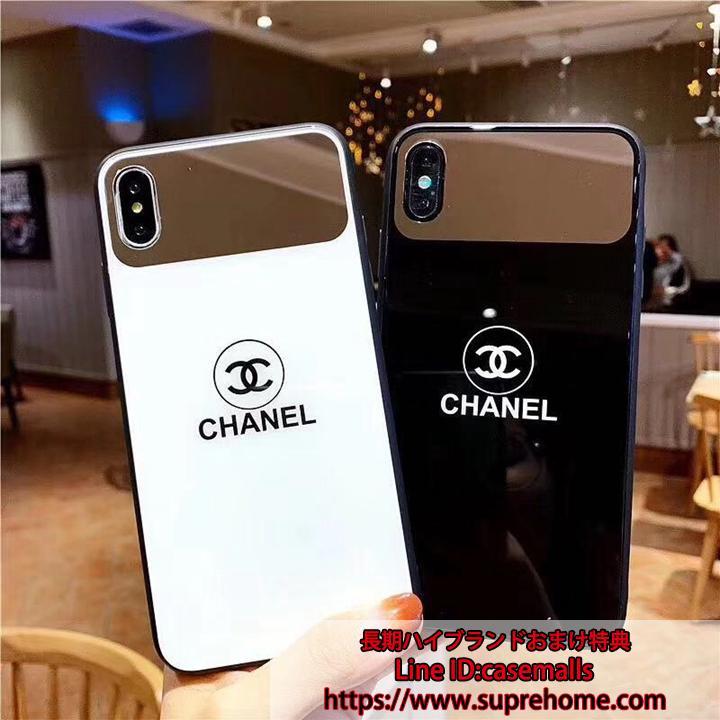 シャネル iPhoneXs鏡付きケース