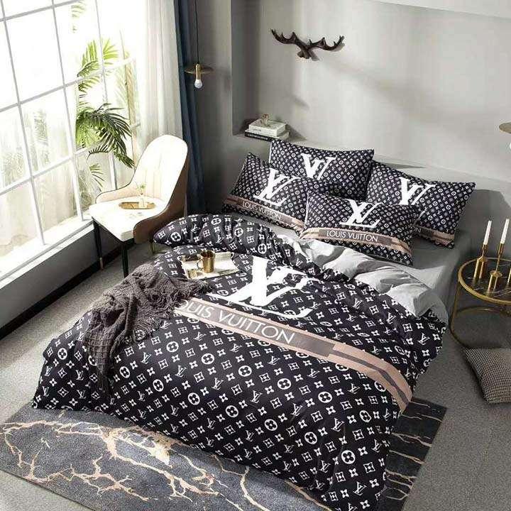 LV お洒落なベッド用品 掛け布団カバーデザイン 枕カバー ブランド ルイヴィトン 寝具 ふわふわ セレブ愛用 上品 代金引換をご利用できます