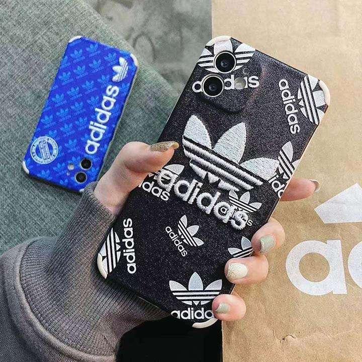 流行り Adidas アイフォン12ケース