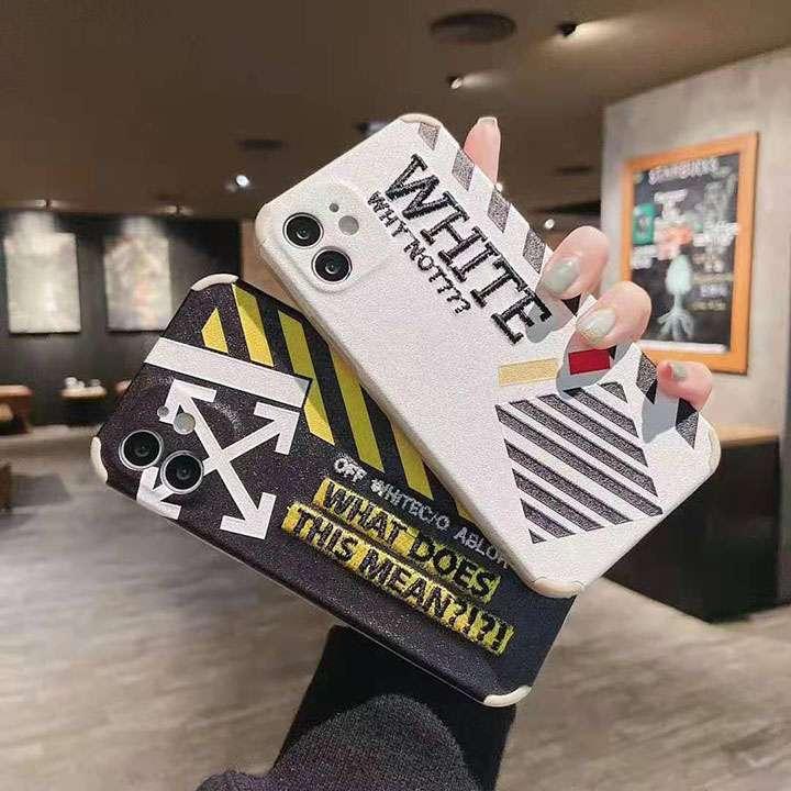 新発売 オフ ホワイト iphone12カバー