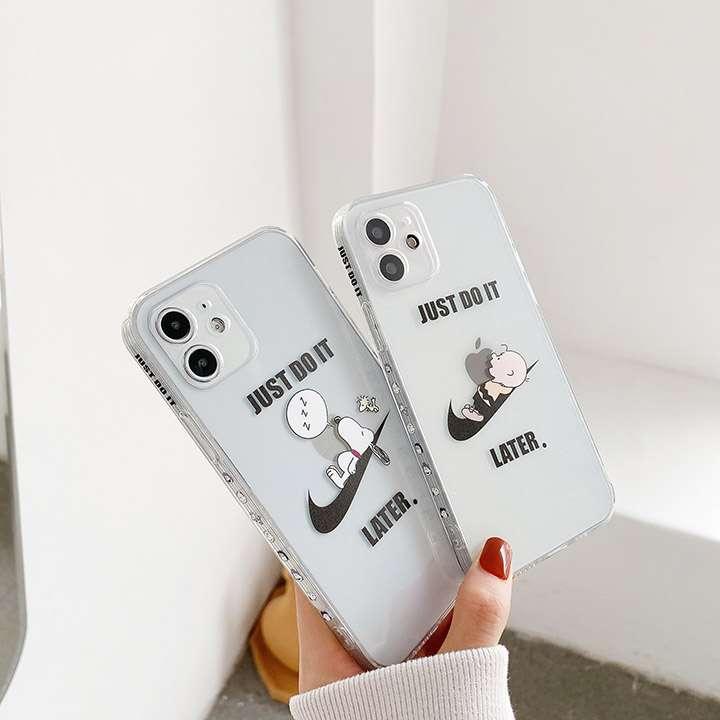 ナイキアイホン12promax/12pro携帯ケース透明