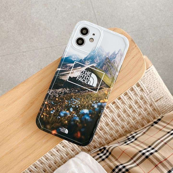 iPhone 13/13 mini 北欧風 the north face 携帯ケース