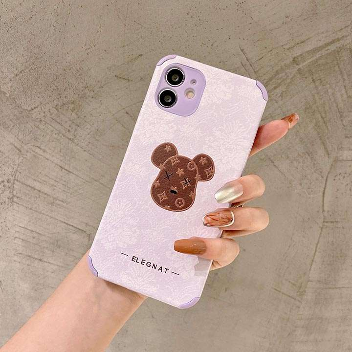 ロゴ付き iPhone12ケース Chanel