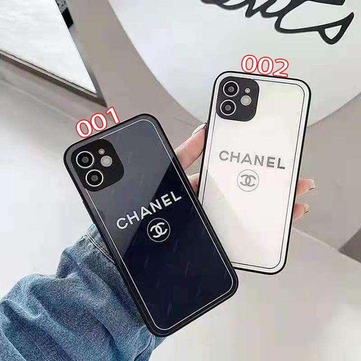 アイフォーン12シンプル風 携帯ケース Chanel